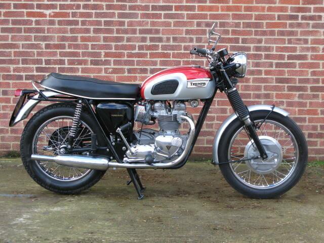 1969 Triumph T120 Bonneville Anthony Godin