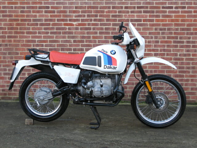 Anthony Godin Bmw R80 Gs Paris Dakar