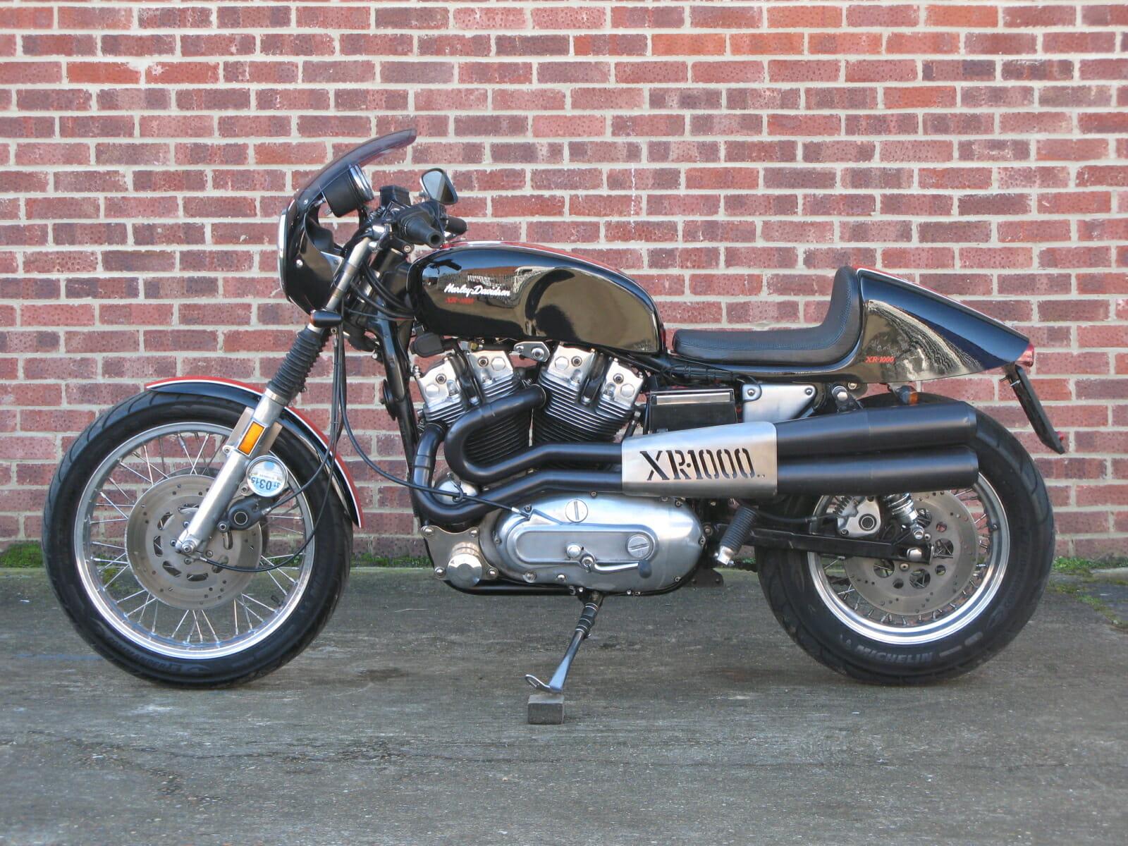 Harley-Davidson XR1000 Cafe Racer | Anthony Godin