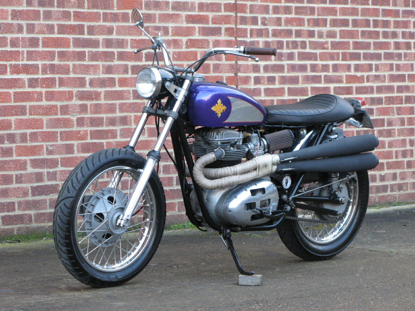 Belt Drive Bike >> BSA A65 Flat Tracker | Anthony Godin