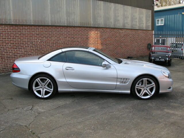Anthony godin mercedes benz sl350 for Mercedes benz bicycle for sale