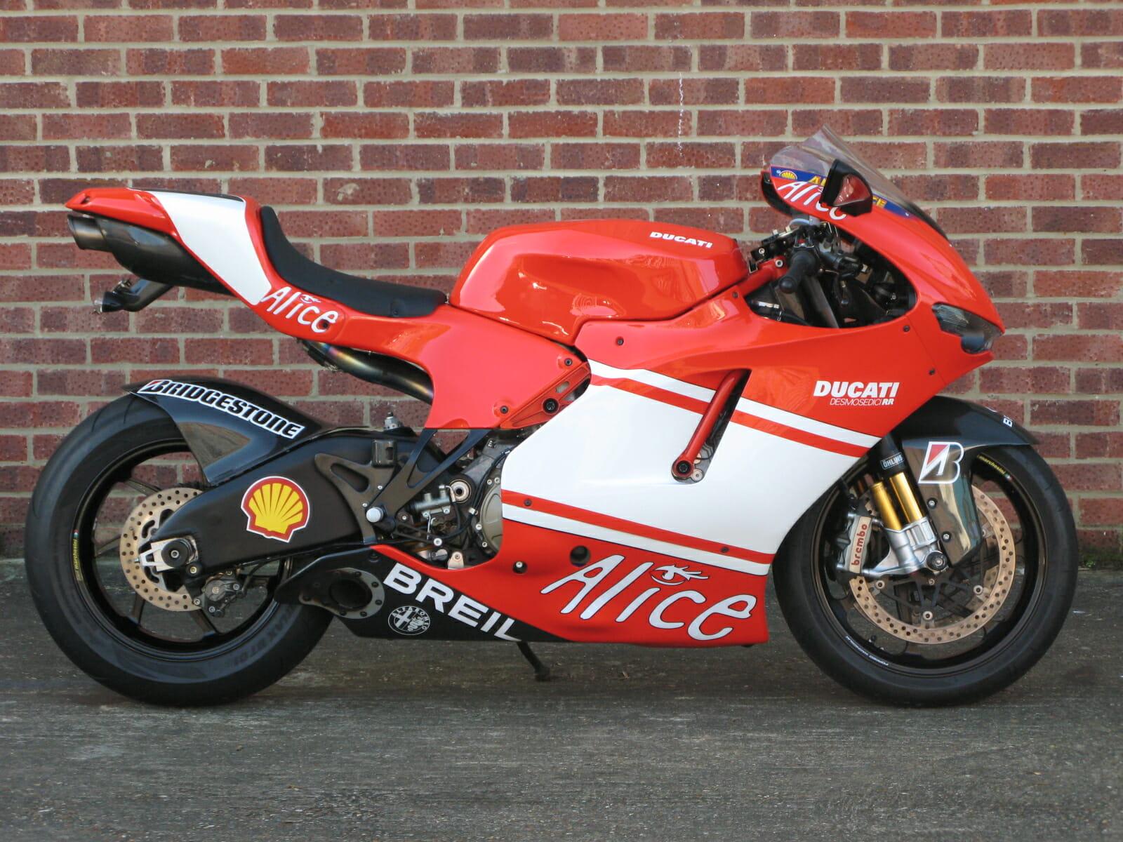 Ducati Desmosedici Rr Anthony Godin