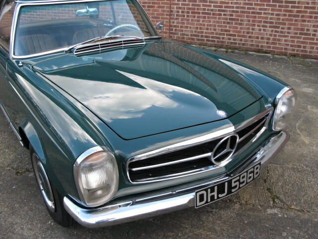 Anthony godin mercedes benz 230sl for Mercedes benz bicycle for sale