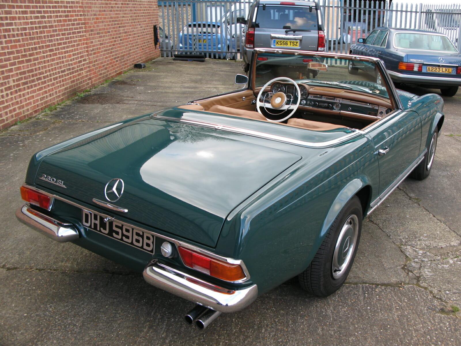 Mercedes benz 230sl anthony godin for Mercedes benz 230 sl