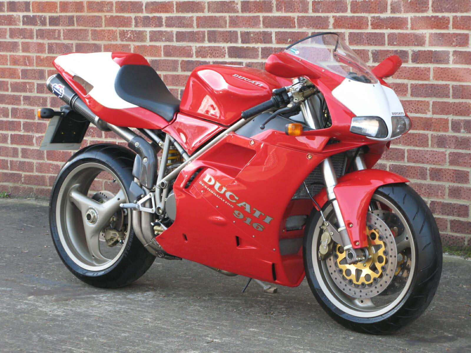 Ducati 916 Sp3 Anthony Godin