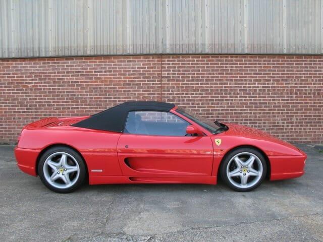 Ferrari 355 Spider Anthony Godin