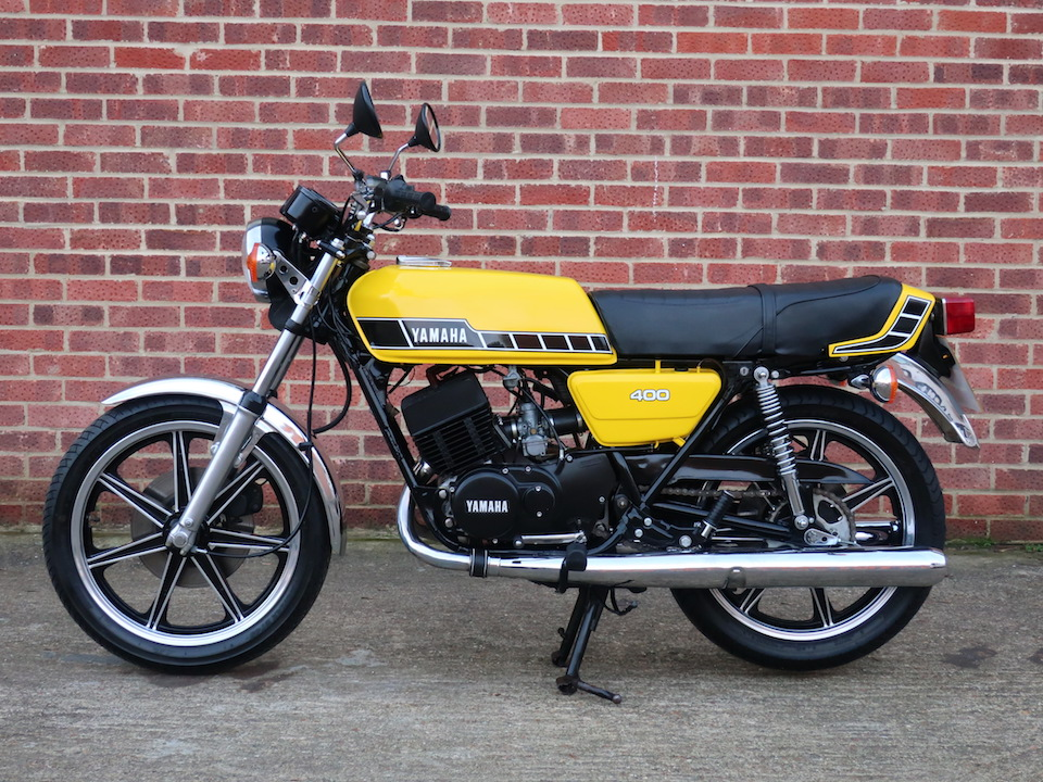 Yamaha RD400 | Anthony Godin